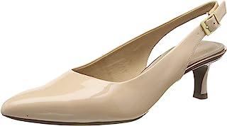 Rockport Total Motion Kaiya 女士露跟高跟鞋,米色