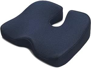 IKSTAR 靠垫 低反弹 坐垫 椅子 办公室腰靠垫 车用 家用 坐感超群 分散体压