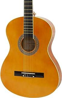 World Rhythm 4/4 经典吉他 - 适合初学者的天然西班牙吉他,全尺寸吉他,非常适合12岁以上儿童