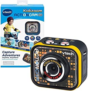 VTech 伟易达 儿童运动相机,儿童数码相机,适合户外运动,便携防水视频数码相机,适合5 岁、6 岁、7 岁、8 岁儿童