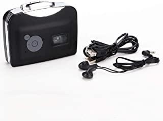 Jimfoty Tape MP3 转换器 磁带转换器 磁带转换器 MP3 转换器 带耳机 带回放功能 磁带转换器 家庭数字立体声 户外