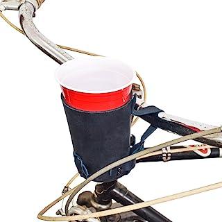 Cruzy Kuzy 厚皮革自行车杯架 Hide & Drink 手工制作 :石板蓝