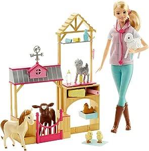 Barbie芭比宠物农庄套装(美国品牌 香港直邮)