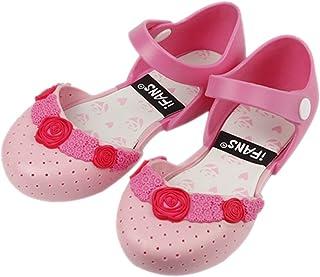 iFANS 女孩玫瑰公主果冻鞋玛丽珍平底鞋幼儿小孩