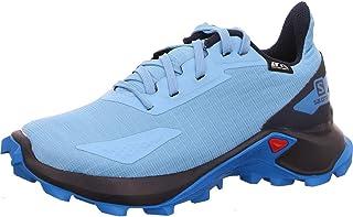 SALOMON 中性款 Alphacross Blast CSWP J 越野跑鞋