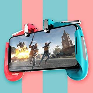 PUBG 移动控制器游戏垫触发火焰按钮移动游戏控制器手机游戏触发器战斗皇家蓝敏感射击和瞄准礼物,适合儿童成人