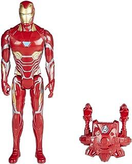 Marvel 漫威 Titan 和背包 Power Fx 钢铁侠(Hasbro 孩之宝 E0606105)