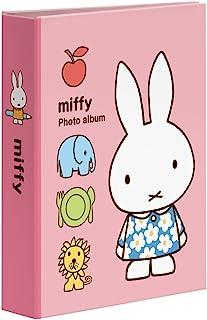 NAKABAYASHI 口袋相册 1层 KG判 40张 米菲 A款 ハガキ 粉色