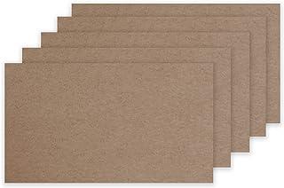 """高级牛皮纸重型卡片纸 100 包 - 100# 封面 270GSM 11PT 卡片库存 - 4"""" x 6"""" 或 5"""" x 7"""" - 美国制造(3"""" x 5"""")"""