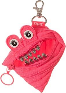 zipit 笔袋 Grillz Monster收纳包 Mr.bell 黑色 parent ミニポーチ、ピンク ZPTM-GR-DY
