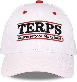 maryland terrapins 成人游戏杆可调节帽子–白色,