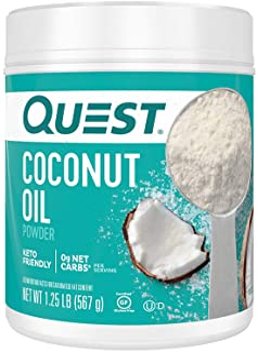 Quest Nutrition - 椰子油粉末 - 1.25磅。