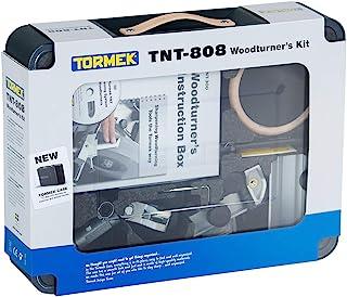 Tormek TNT-808 Woodturner's 套件 - Tormek 水冷却磨刀系统完整削刀工具套件 - 包括您想要塑形和磨削所有车削工具的所有东西