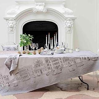 Garnier Thiebaut Veneziano Sfumato 桌布,175.32 厘米 x 254.04 厘米