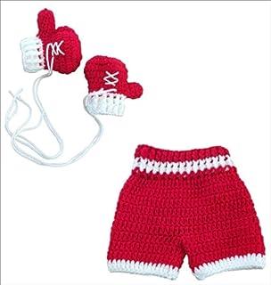 micia luxury 专业拳击手套+平角内裤 2件套 红色