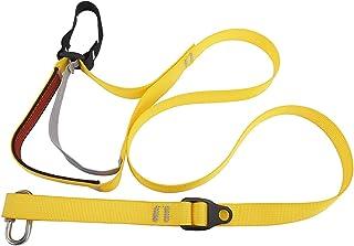 HYDDNice 可调节攀岩吊带 脚环 上升吊带 脚带 适用于户外登山 探险 洞穴 攀岩 攀岩