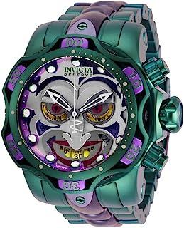 Invicta 男士 DC 漫画石英潜水手表不锈钢表带,紫色,*,26(型号:30124)