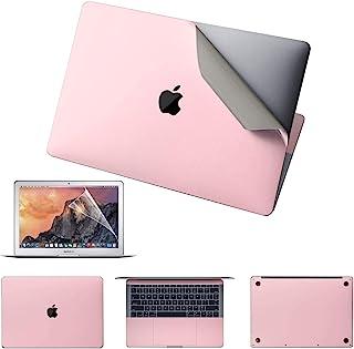 优质 5 合 1 MacBook 全身保护皮肤贴纸适用于新款 MacBook Air 13 英寸(型号:A2179,2020 年发布)- 玫瑰粉