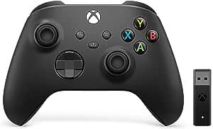 Xbox 无线控制器 + 无线适配器 适用于 Windows (Xbox 系列 X/)