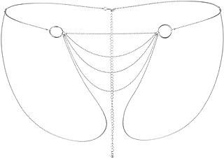 Bijoux Indiscrets - Magnifique 比基尼链 - 高贵和细丝金属首饰 - 银色
