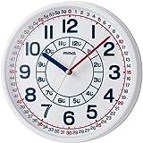 MAG(麦克) 挂钟 非电波 模拟 *手表 收拢 直径28厘米 白色 W-736WH-Z