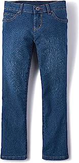 The Children's Place 女童靴型牛仔裤,修身