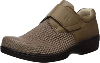 Propét 女士 套脚 monk-strap loafers