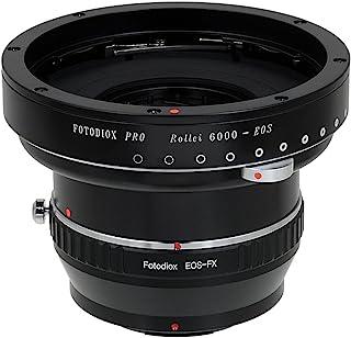 Fotodiox Pro 镜头安装适配器,Rollei 6000 (Rolleiflex) 系列镜头到富士 X 系列无反光相机适配器 - 适合 X-Mount 相机主体,如 X-Pro1、X-E1、X-M1、X-A1、X-E2、X-T1