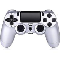 无线控制器兼容 PS4,Playstation 4 游戏控制器,内置扬声器 6 轴陀螺仪和双振动,遥控游戏手柄,适用于…