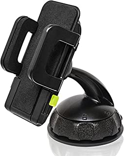 """Bracketron Car Mount for Holds Devices up to 4"""" Wide - Retail Packaging - Black/Black"""