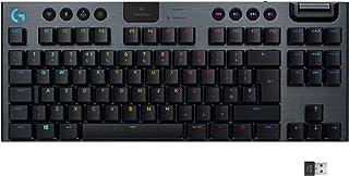 Logitech 罗技 Lightsync RGB 机械游戏键盘920-009501  Tactile Switches (UK layout)