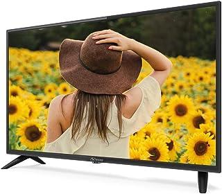 STRONG SRT32HC2003 32英寸(80厘米)高清LED电视带三调谐器(HD,HDMI,Scart,USB,EPG,CI+,DVB-T天线,酒店模式,DVB-T/T2/C/S2,Freenet),黑色