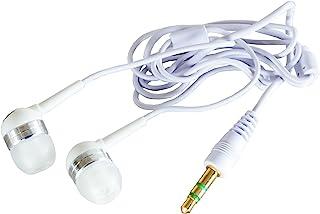 F.S.C. 外部接头* 立体声耳机 带麦克风F50-KA01WH au 白色