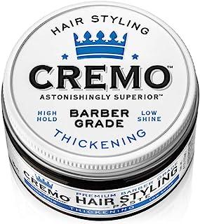 Cremo 高级理发级发型增稠膏,高定型,低光泽,4 盎司