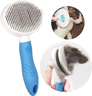 宠物*刷适用于猫狗,自清洁刷,轻轻去除松散的底层,垫子和缠结的*