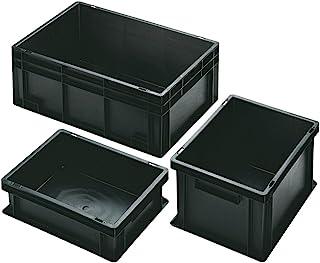 防护存储容器 标准 ESD 400 × 300 × 320 毫米 底盘