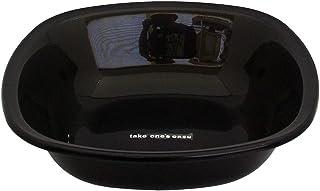 Shakattec 角型 洗面器 take one's ease 黑色 412600