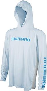 SHIMANO 長袖連帽 Tech T 恤釣魚裝備