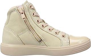 ECCO 女童 S7 Teen 高帮运动鞋