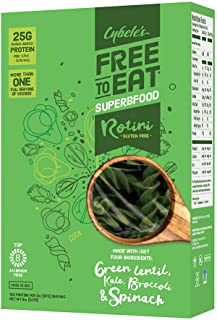 Cybele's Free To Eat Superfood Veggie Pasta, Superfood Green, 8 Ounce Box (Pack of 6)