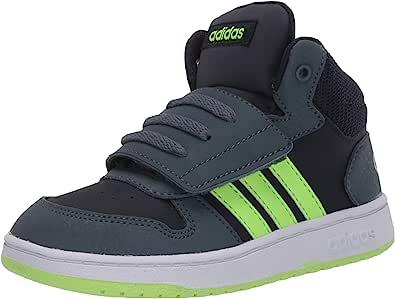 adidas 儿童 Hoops 2.0 中帮篮球鞋