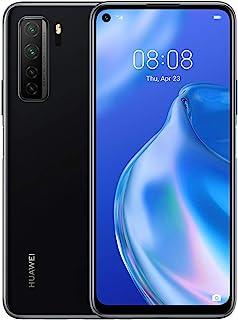 Huawei 華為 P40 Lite 5G - 128 GB 6.5 英寸智能手機,帶Punch FullView 顯示屏,64 MP AI 四攝像頭,4000 mAh 大容量電池,40W 超負荷,6 GB 內存,無鎖卡安卓手機,雙 SIM卡 ,黑色