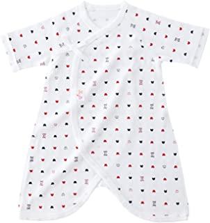 婴儿城堡 连体内衣 50~60 罗纹织物 春 夏 秋 冬 棉* 日本制造