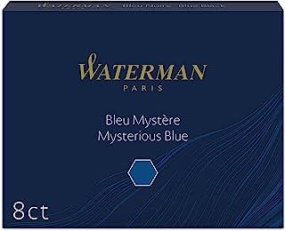 Waterman 补充墨水替芯 神秘蓝(蓝黑色)S0110910 1.4毫升