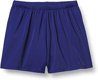 Maxine Of Hollywood 女式 5 英寸宽松中腰游泳短裤 *蓝 10