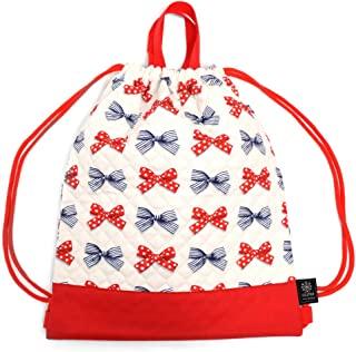 背包 腰包 口袋波点和条纹法式丝带(象牙色)N0444300