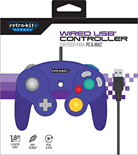 GameCube 有线 USB 控制器 Mac Retro-Bit Europe (PC DVD)