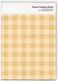 Cubix 家庭账簿 3个月 格纹 黄色 200697-03