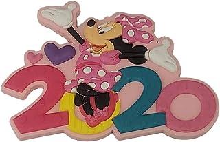 Disney 2020 米妮心形粉色磁铁