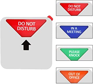 Do Not Disturb Sign, Out of Office 标志, Please Knock 标志, Privacy Sign, in a Meeting Sign, Office Sign, Conference Sign, 5 I...